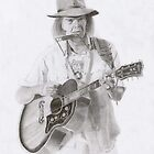 Neil Young by terry morris