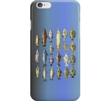 Freshwater Fish Group iPhone Case/Skin