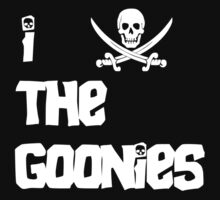 I LoveThe Goonies Kids Clothes