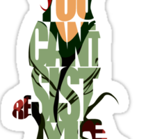 Poison Ivy Sticker