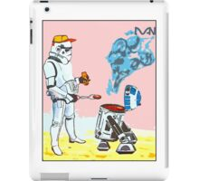 Star Wars BBQ- a piece of street art in Bristol by Dan iPad Case/Skin