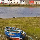 Old Rowboat on Galway Bay by ThomasMaher