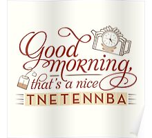 Tnetennba in the Morning Poster