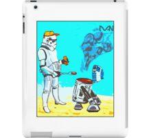Stormtrooper griddle! iPad Case/Skin