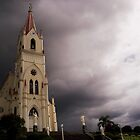 Church and Storm Clouds by Nando MacHado