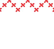 Knit design Christmas Sticker