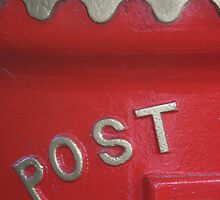 English postbox by Karen Gough