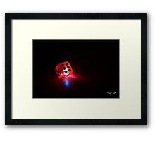 Die of a Thousand Fortunes Framed Print
