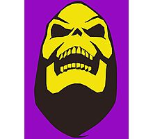 Skeletor Head T-shirt Photographic Print