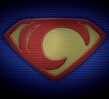 """The Letter C in the Style of """"Man of Steel"""" by BigRockDJ"""