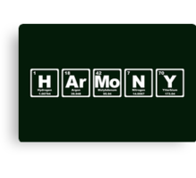 Harmony - Periodic Table Canvas Print