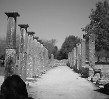 Pathway into Ancient Times by Laurent