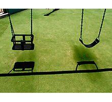 Swings Photographic Print