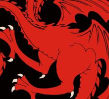 Not a QUEEN, a KHALEESI - GoT (House Targaryen sigil) Sticker
