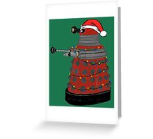 Festive Dalek. Greeting Card