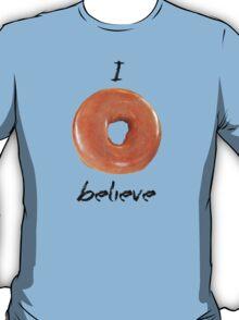I donut believe! (Light background) T-Shirt