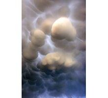Mammatus clouds  Photographic Print