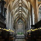 bristol cathedral, england by gary roberts