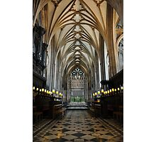 bristol cathedral, england Photographic Print