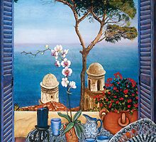 Ravello's Castle by Sarina Tomchin