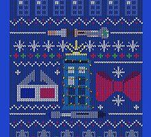 Who Christmas Sweater by LeslieHarris