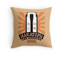 Nakatomi, 1988 Throw Pillow
