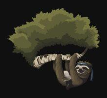 Glitch Groddle Land sloth by wetdryvac