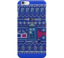Who Christmas Sweater iPhone Case/Skin