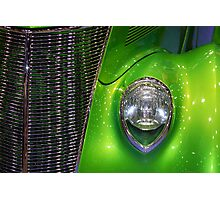 Green Grill Photographic Print