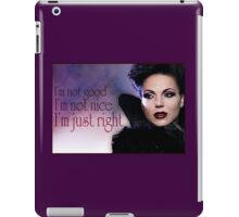 Evil Queens have all the fun iPad Case/Skin