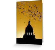 HOLY SUNRISE (BELIEF) Greeting Card