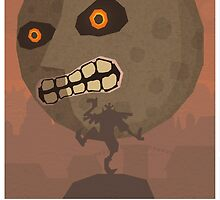 Zelda Majora's Mask Final Hours (With Caption) by megaoctipoosh