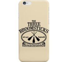 The Three Broomsticks, Harry Potter, ButterBeer iPhone Case/Skin