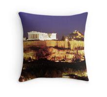 Acropolis 1 Throw Pillow
