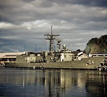 HMAS Darwin by Kelly McGill
