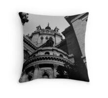 """""""cathedral 0.1"""" Throw Pillow"""