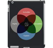 A-venn-ge Diagram iPad Case/Skin