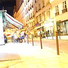 Stumbling Drunk Near the Marche St. Germain by APhillips