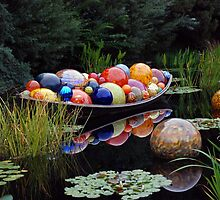 """""""Float Boat"""" by Dale Chihuly by Sallie Sprague"""