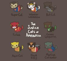 The Justice Cats of Ameowrica Kids Clothes