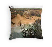 Loch Ard Gorge Throw Pillow
