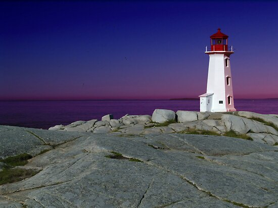 Peggy&#x27;s Cove, Nova Scotia by kenmo