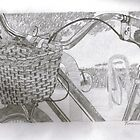 """Basket"" in Graphite by Clayton  Turner"