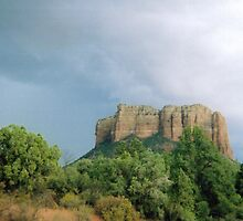 Courthouse Rock by Clayton  Turner