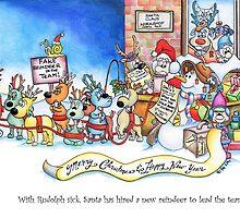 Fake Reindeer in the Team by Ritalai