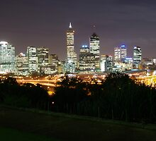 Perth City of Lights by Daniel Fitzgerald
