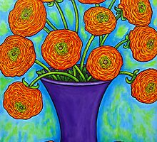 Radiant Ranunculus by LisaLorenz