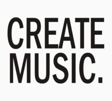 Austin Carlile Create Music Shirt by davidmusic