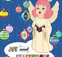 Joy from Queenie! by Julia McLain