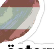 National Birds- Austria Sticker